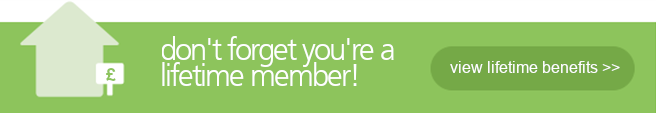 Don't forget you're a lifetime member!