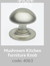 Mushroom Kitchen Furniture Knob