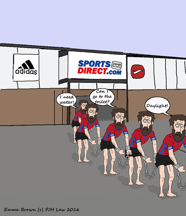 Sports Direct Scandal