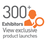 300+ Exhibitors