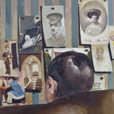 Bedmaking, Stanley Spencer at Sandham Memorial Chapel © National Trust /John Hammond