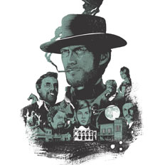 Summer Screen Prints. Image: A Fistful of Dollars © Joe Wilson
