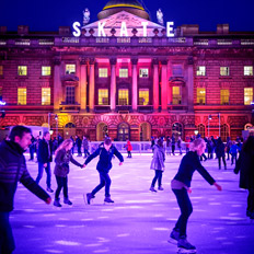 Skate at Somerset House. Image © James Bryant