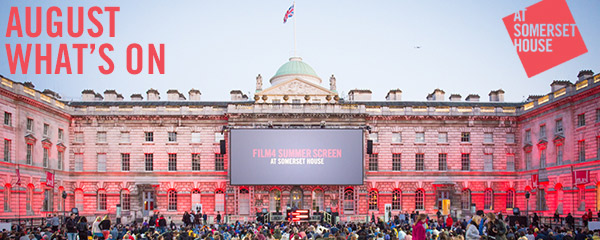 What's On at Somerset House – August 2015. Image © James Bryant