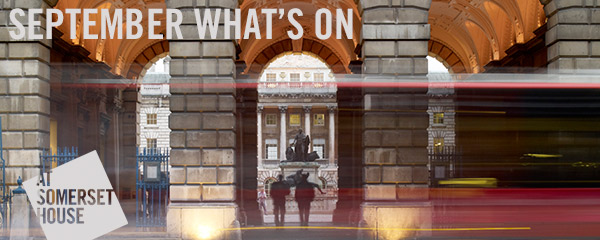 September What's On. Image © Marcus Ginns
