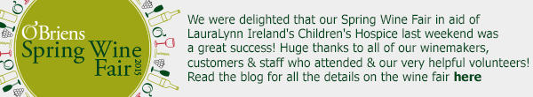 Thank you from everyone at O'Briens
