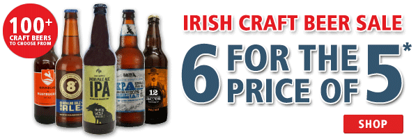 Irish Craft Beer Sale