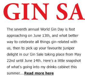 Gin Sale Blog