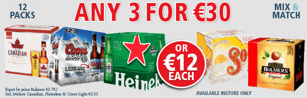 Bank Holiday Beer Offer