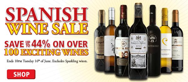 Spanish Wine Sale